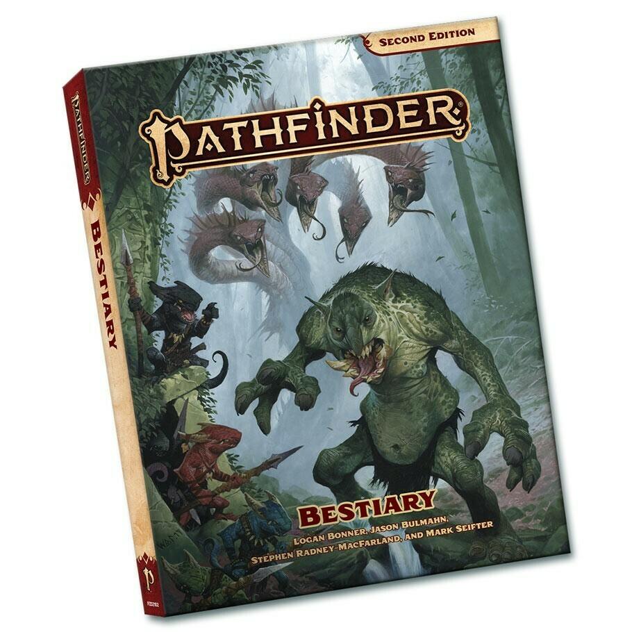 Pathfinder 2e: Bestiary Pocket Edition