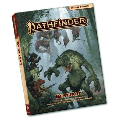 Pathfinder 2e: Bestiary Pocket Edition
