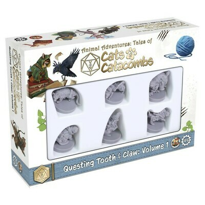 Animal Adventures: Cats & Catacombs: Questing Tooth & Claw V1