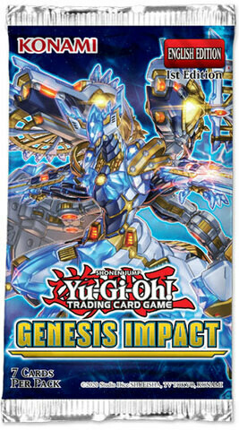 Ygo: Genesis Impact Booster Pack