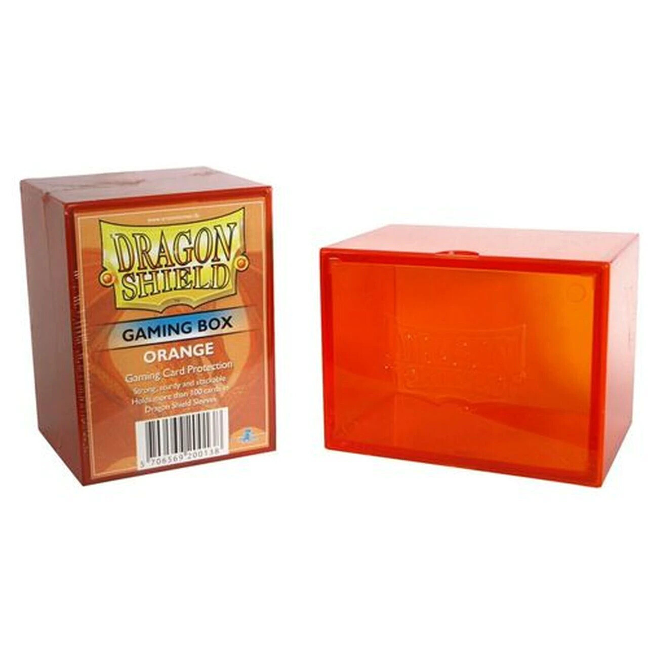 Deck Box: Dragon Shield: Gaming Box Orange