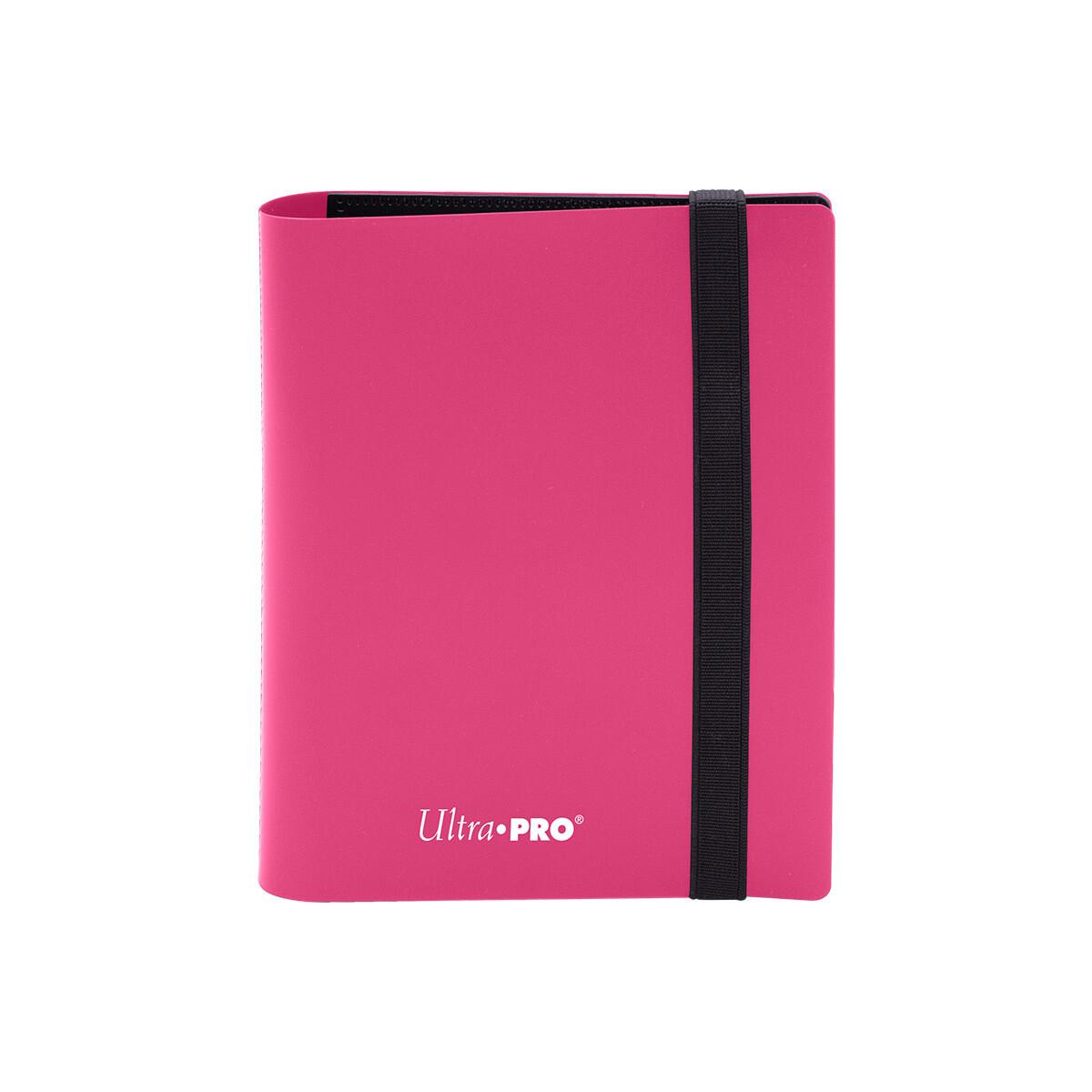 Binder: Ultra Pro: 2 Pocket Eclipse Hot Pink