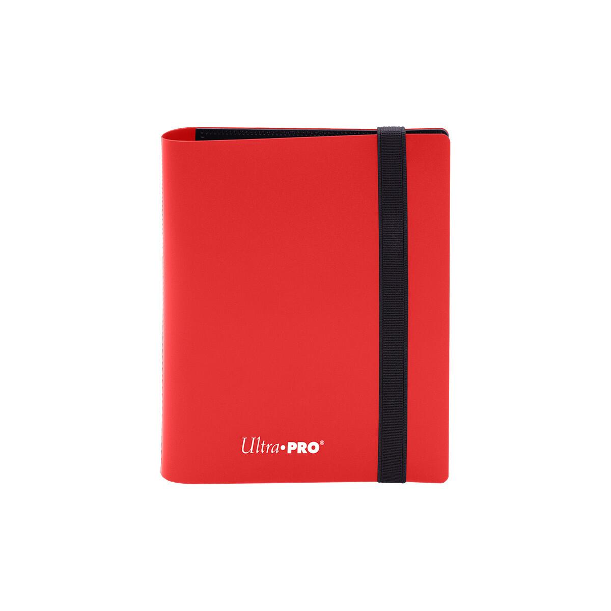 Binder: Ultra Pro: 2 Pocket Eclipse Apple Red