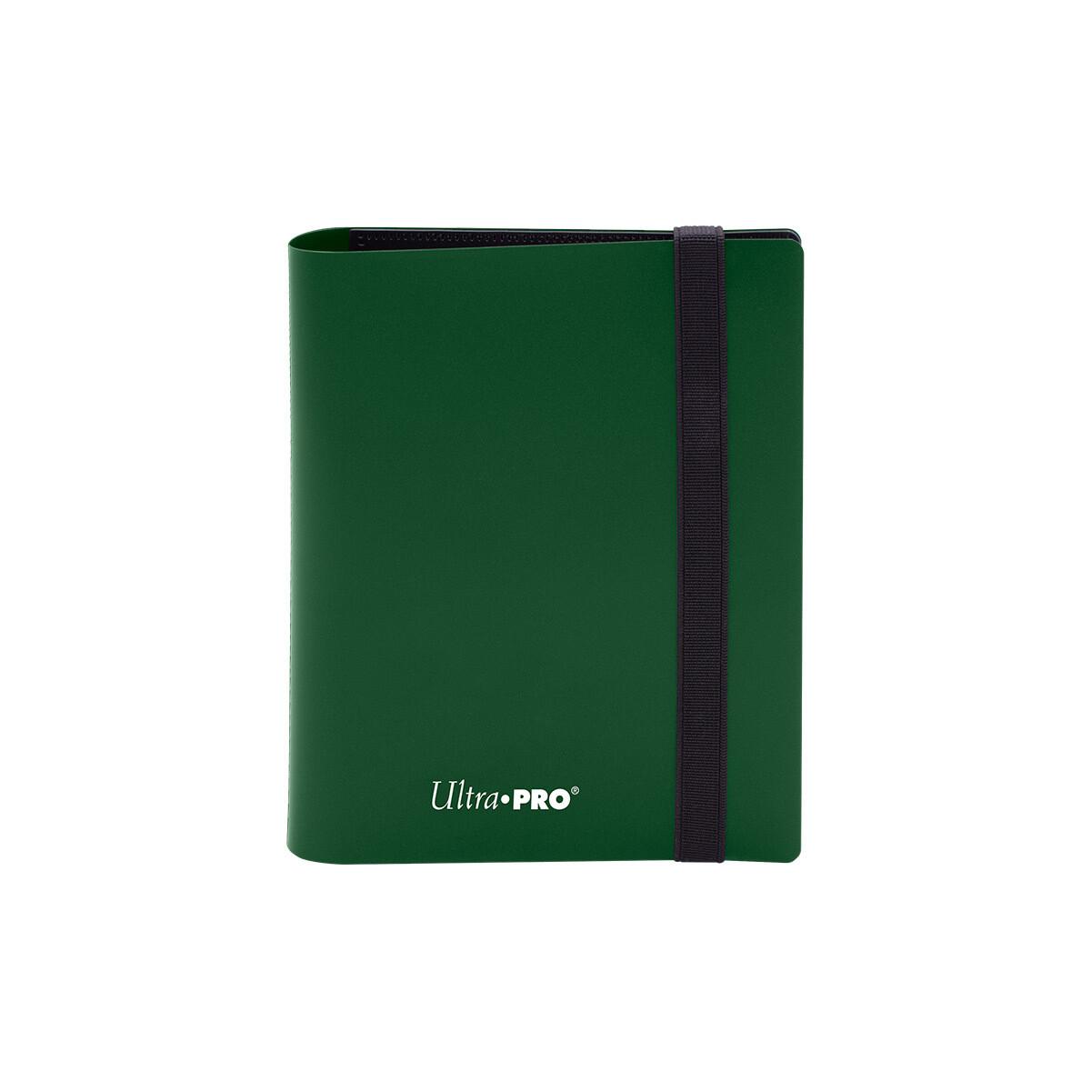 Binder: Ultra Pro: 2 Pocket Eclipse Forest Green