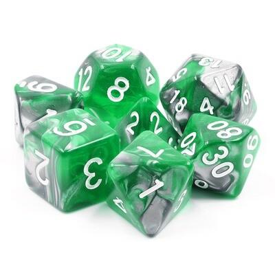 7 Die Set: Emerald Ore