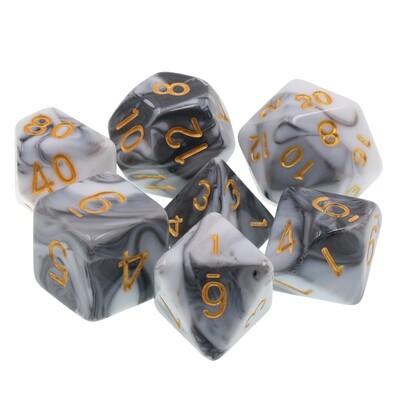 7 Die Set: Darkened Granite