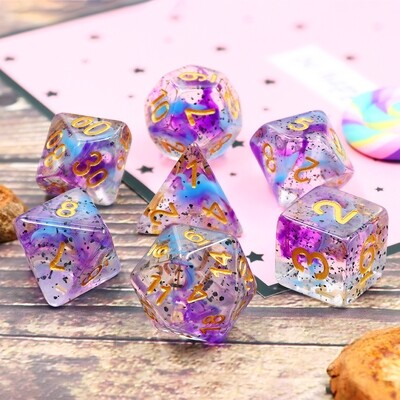 7 Die Set: Violet Sulfer