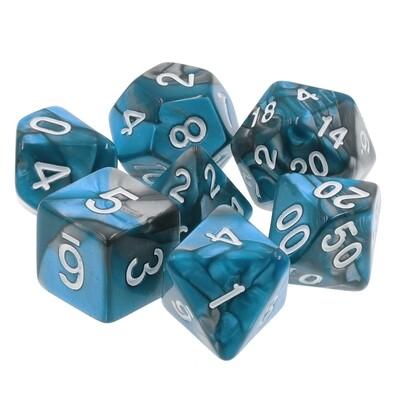 7 Die Set: Blue Steel