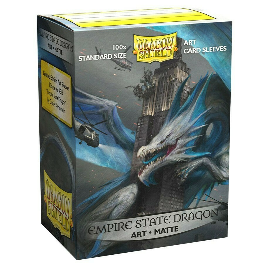 SLV: Dragon Shield Art: Matte Empire State Dragon (100)