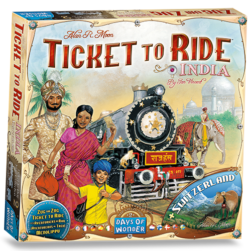 Ticket to Ride: India Map Col 2