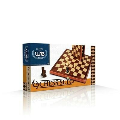 Chess Folding Wood Set 11