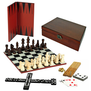7-in-1 Combo Set in Wood Box