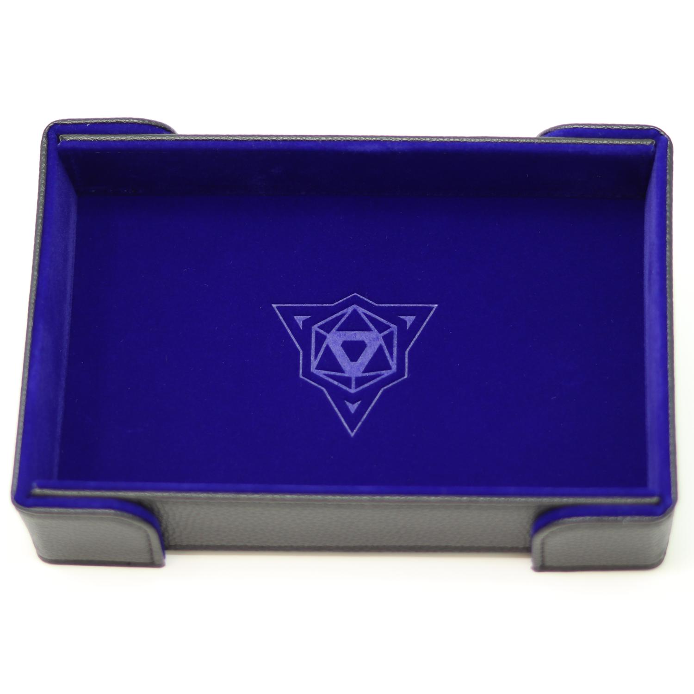 Die Hard Magnetic Dice Tray Rectangle: Blue Velvet