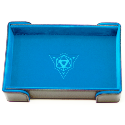 Die Hard Magnetic Dice Tray Rectangle: Teal Velvet