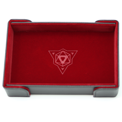 Die Hard Magnetic Dice Tray Rectangle: Red Velvet