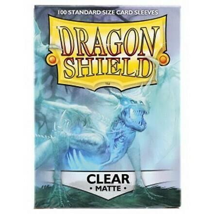 SLV: Dragon Shield Matte Clear (100)