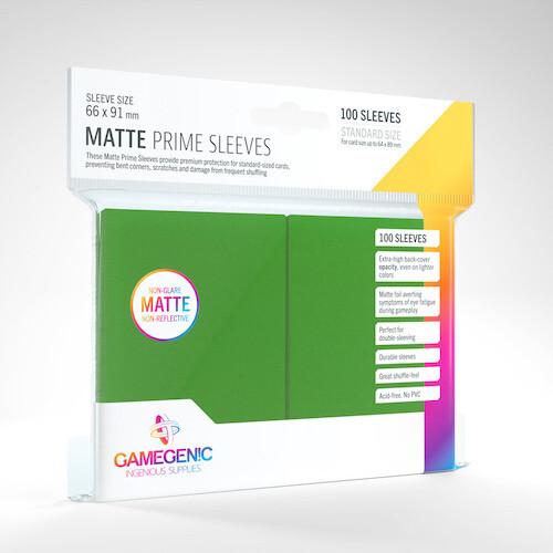 SLV: Gamegenic: Matte Prime Green (100)