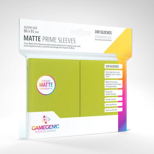 SLV: Gamegenic: Matte Prime Lime (100)