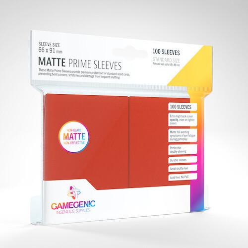 SLV: Gamegenic: Matte Prime Red (100)