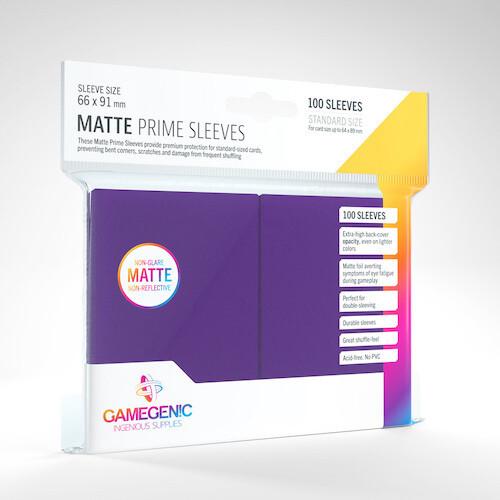 SLV: Gamegenic: Matte Prime Purple (100)