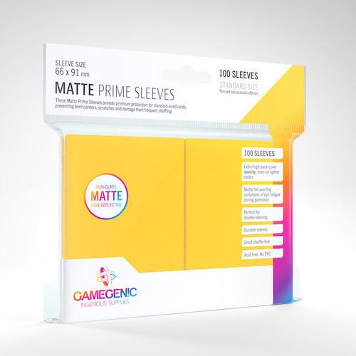 SLV: Gamegenic: Matte Prime Yellow (100)
