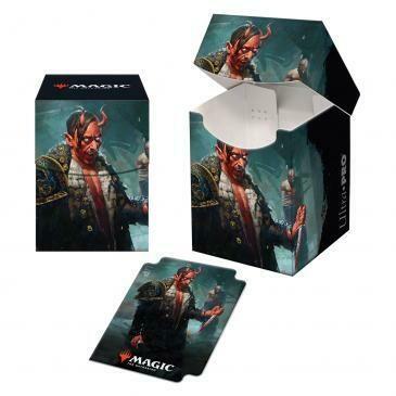 Deck Box: PRO 100+: MtG: Kaldheim: Tibalt, Cosmic Imposter