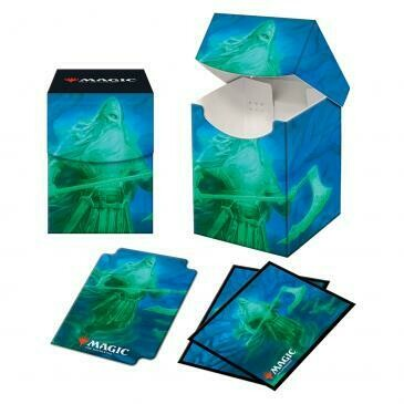 Combo Box: MtG: Pro 100+ with Sleeves: Kaldheim: Ranar the Ever-Watchful