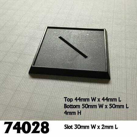 2 Inch Plastic Square Base (10ct)