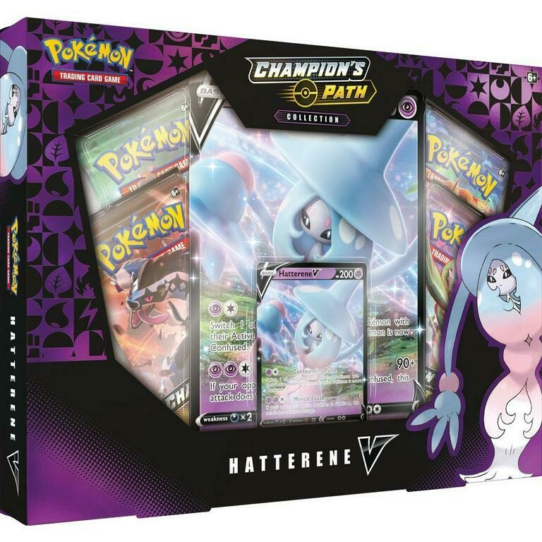 Pokemon: Champion's Path: Hatterene V Box