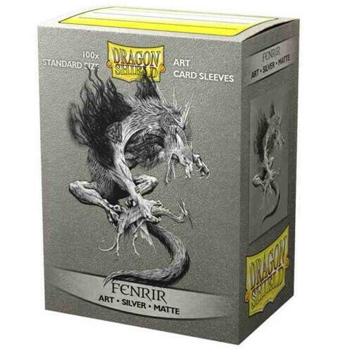 SLV: Dragon Shield Art: Silver: Matte Fenrir (100)