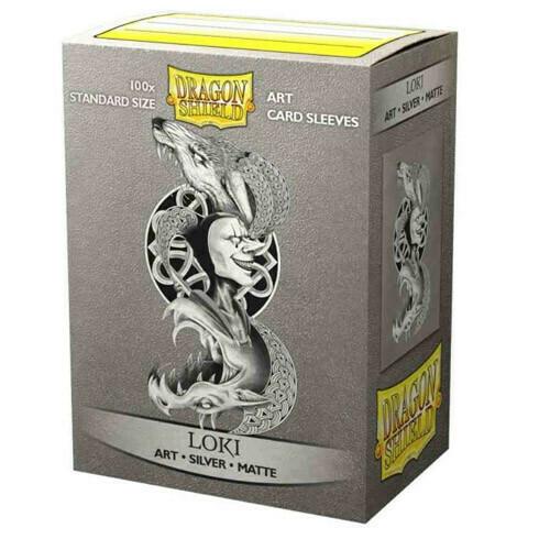 SLV: Dragon Shield Art: Silver: Matte Loki (100)