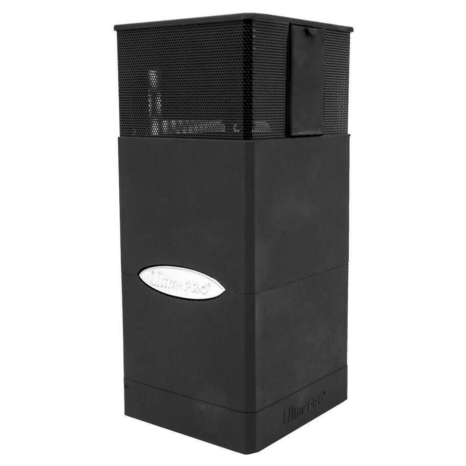 Deck Box: Satin Tower Boombox: Black