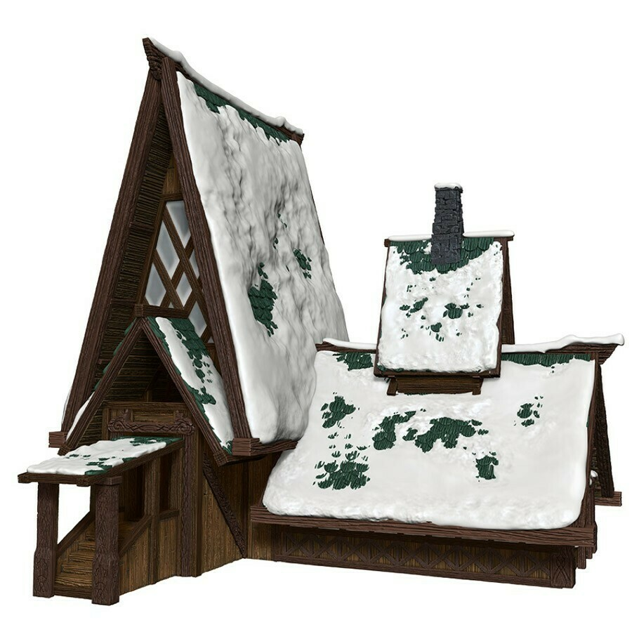 D&D: IR: Icewind Dale: The Lodge Papercraft