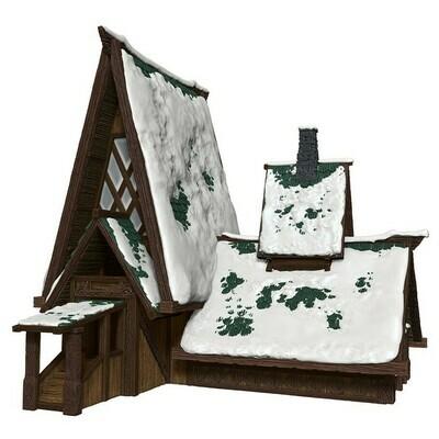D&D: IR: Icewind Dale: The Lodge Papercraft