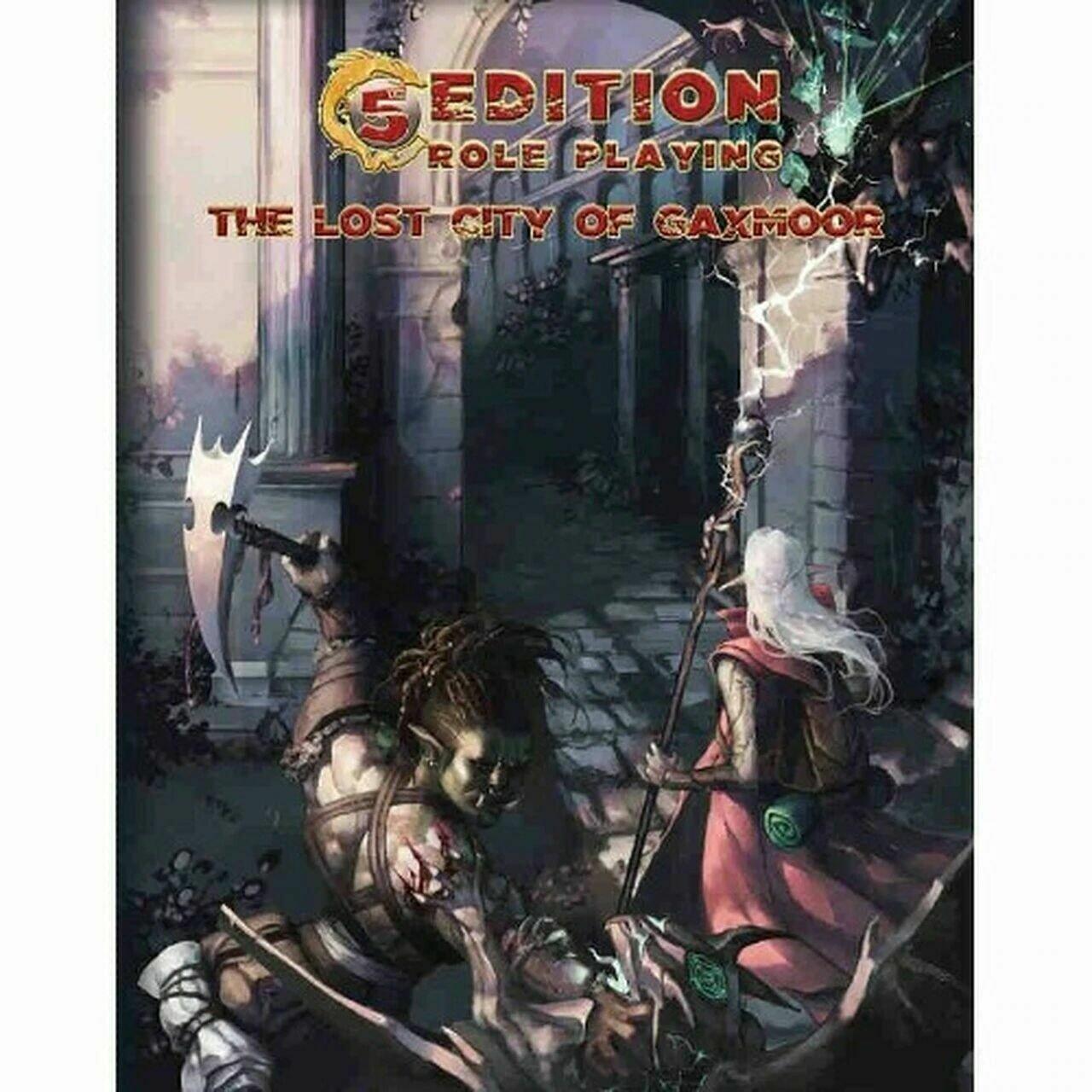 5e: Adventure: The Lost City of Gaxmoor