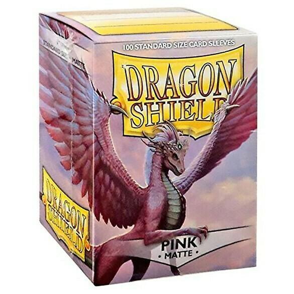 SLV: Dragon Shield Matte Pink (100)