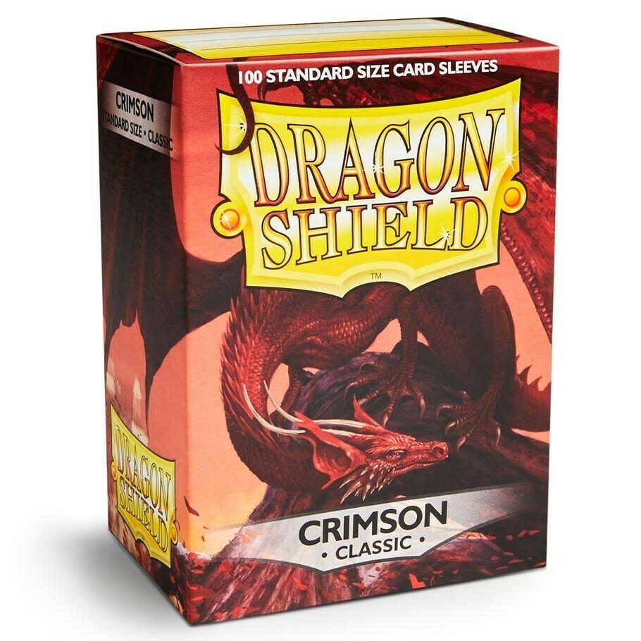 SLV: Dragon Shield Classic Crimson (100)