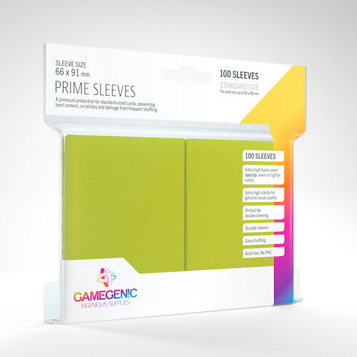 SLV: Gamegenic: Prime Lime (100)
