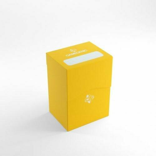 Deck Box: Gamegenic: Deck Holder 80+: Yellow