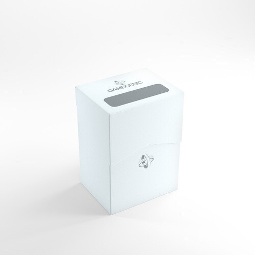 Deck Box: Gamegenic: Deck Holder 80+: White