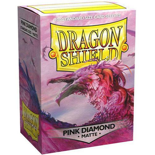 SLV: Dragon Shield Matte Pink Diamond (100)