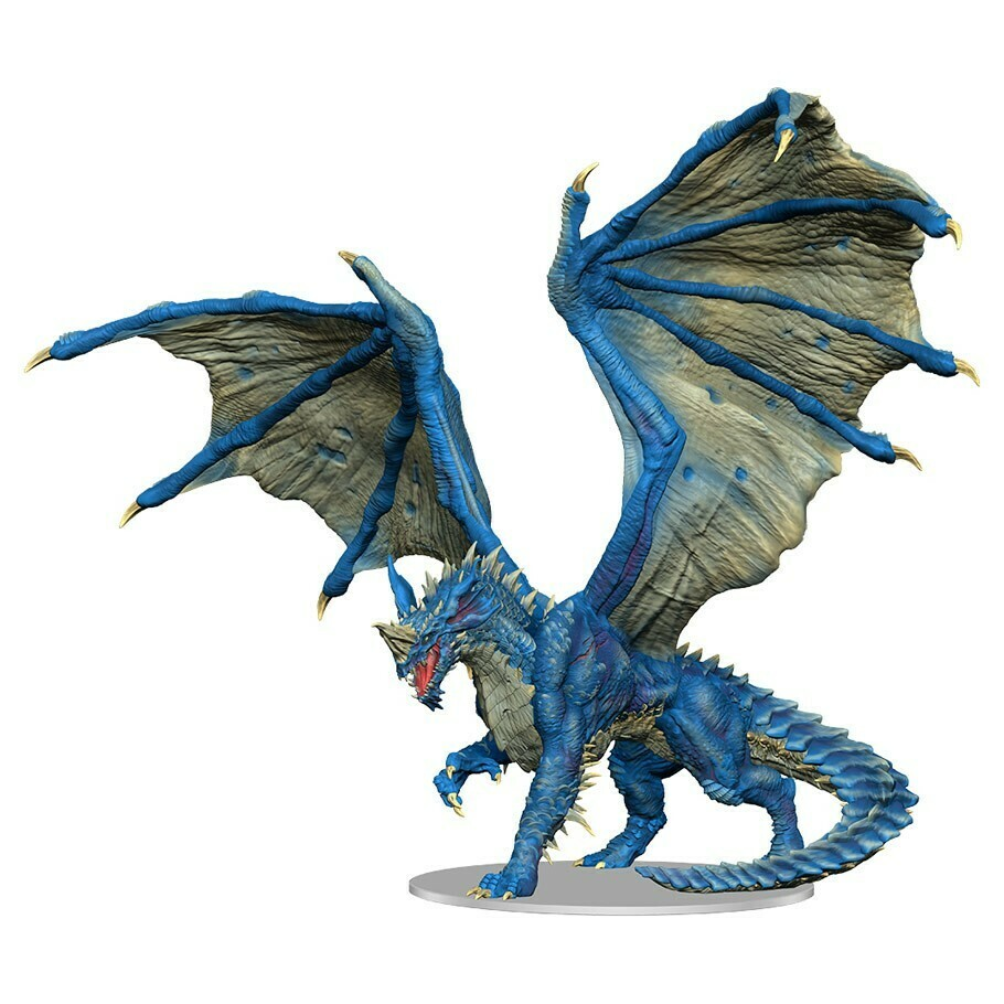 D&D: Icons of the Realm Premium: Adult Blue Dragon