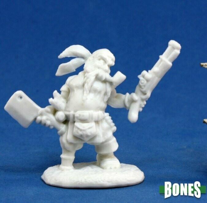 Gruff Grimecleaver, Dwarf