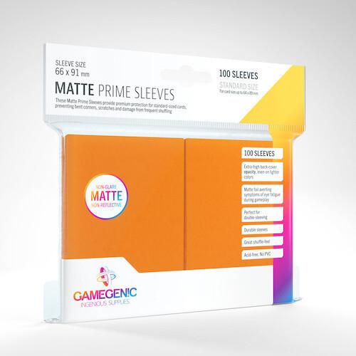 SLV: Gamegenic: Matte Prime Orange (100)