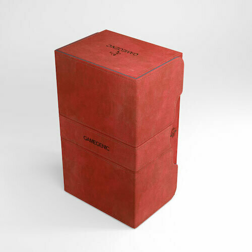 Deck Box: Gamegenic: Stronghold 200+: Red