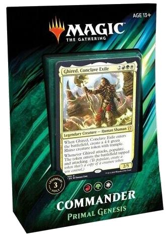 Mtg: Commander 2019 Deck: Primal Genesis