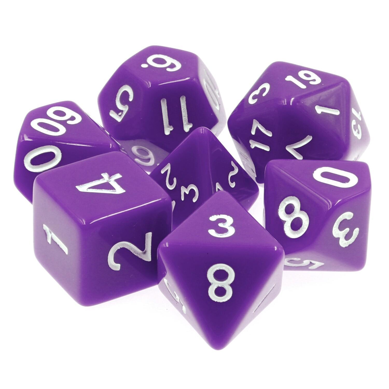7 Die Set: Opaque Purple