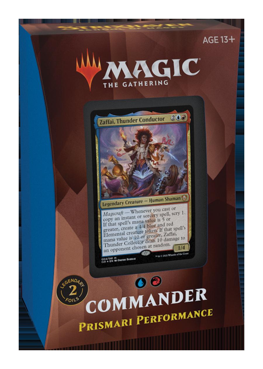 Mtg: Strixhaven Commander Deck: Prismari Performance