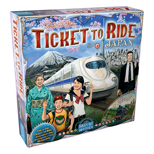 Ticket to Ride: Japan & Italy Map Col 7