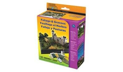 SceneARama: Bushes Foliage Grasses Kit